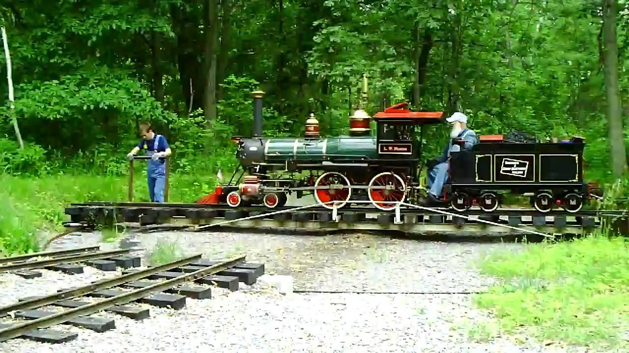 Live Steam Railroad, Riverside & Great Northern Wisconsin ...