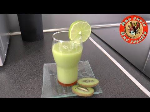 jus-de-fruits-poire,-kiwi-et-ciron-vert---une-envie,-une-recette