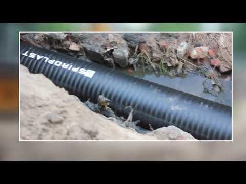 Телеканал Новий Чернігів: Колектор: нову трубу підключили до мережі| Телеканал Новий Чернігів