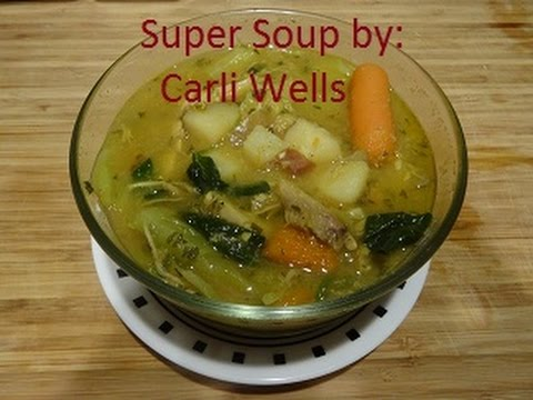Super Soup: Great for Immune system, Blood Pressure and Diabetes