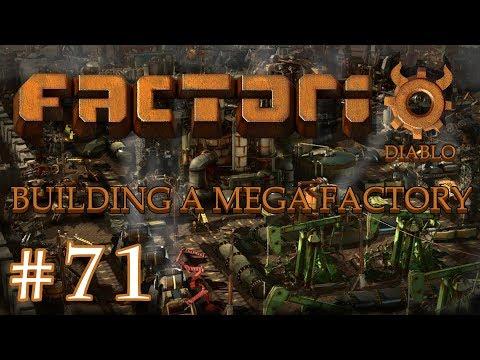Factorio - Building a Mega Factory: Part 71 I'm feeling Blue