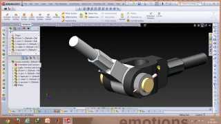 Knuckle Joint-Functioning and making in Solidworks