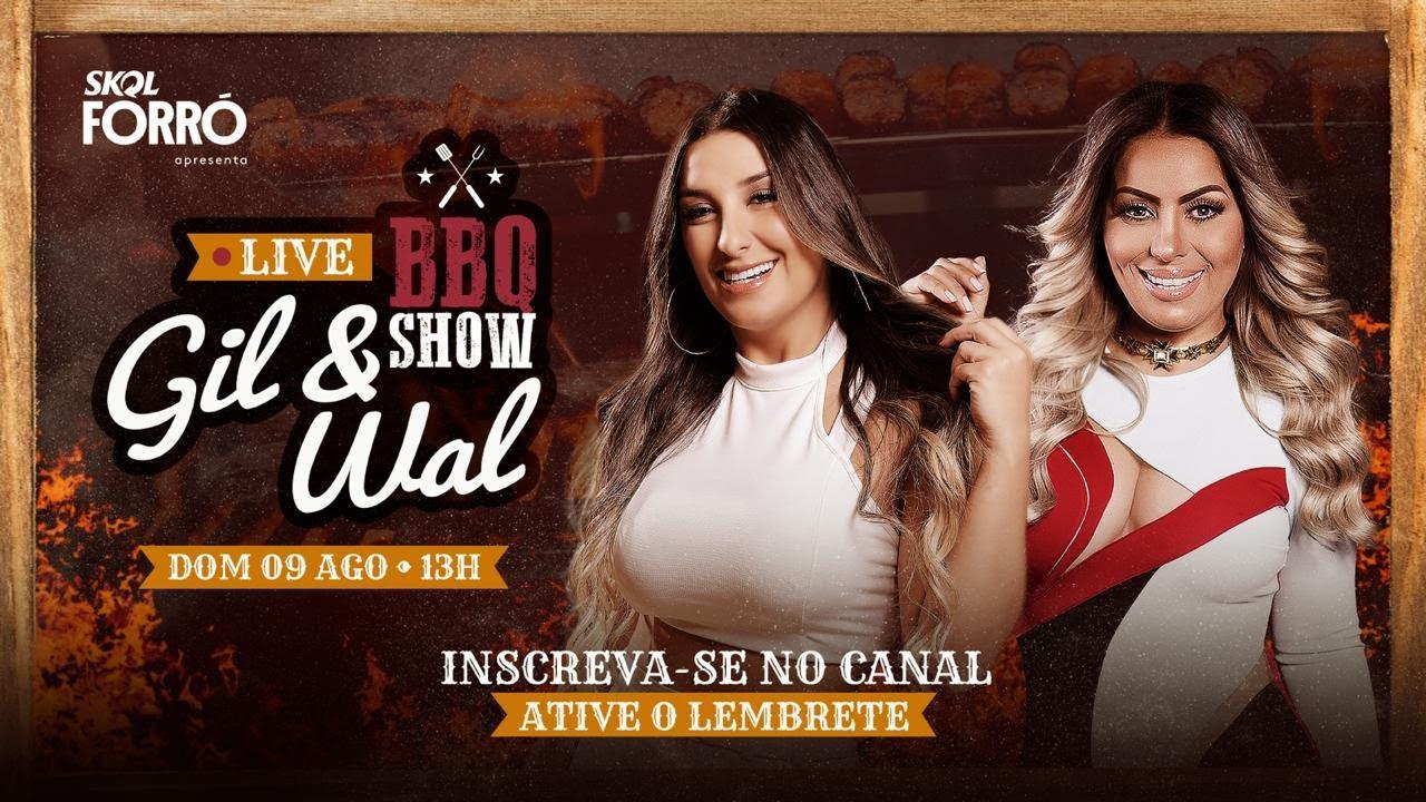 Live Gil Mendes e Walkyria Santos / BBQ Show Gil e Wal