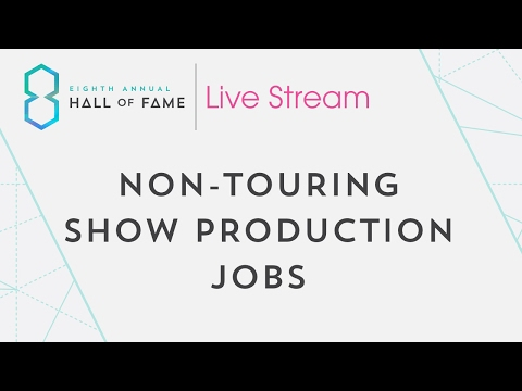 Non-Touring Show Production Jobs