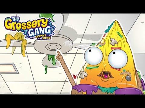 Grossery Gang Cartoon 🔥 REACH THE FAN 🔥  Cartoons for Kids | Toys For Kids