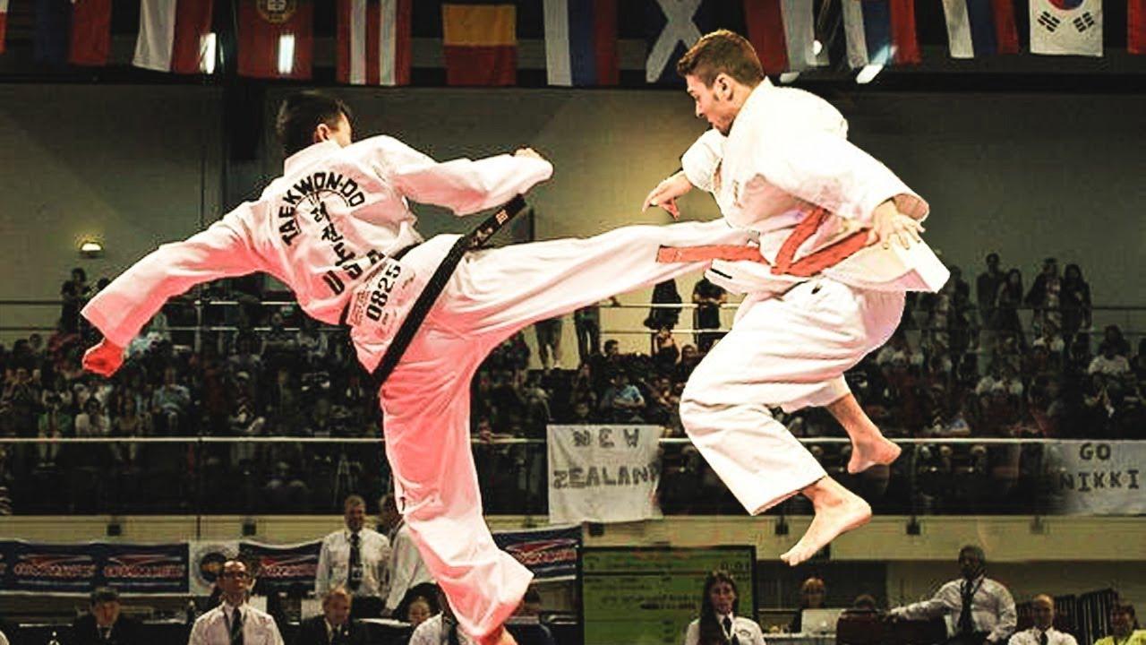 Karate vs taekwondo belts
