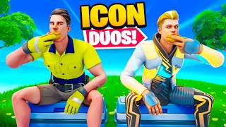 Lachlan x Lazarbeam Fortnite Icon Duos!