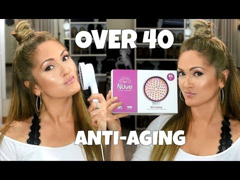 My Over 40 ANTI-AGING Skin Care Routine | ReVive Light Therapy