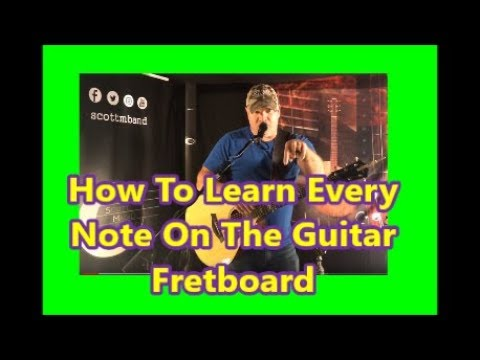 How To Learn The Guitar Fretboard Notes Fast - {2019}
