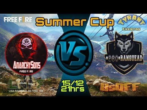 SUMMER CUP FREE FIRE - ANARCHY SONS X PRO RANQUEAD