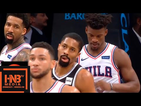 Philadelphia Sixers vs Brooklyn Nets 1st Half Highlights   11.25.2018, NBA Season