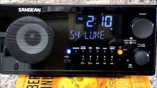 review and unboxing sangean wr 22bk am fm rds bluetooth usb table top digital tuning receiver