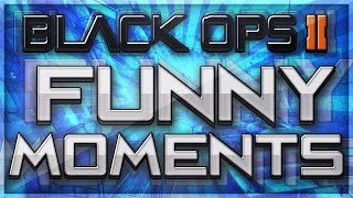 Black Ops 2 Funny Moments!  Riot Shield Glitch, Modded Lobby & More!