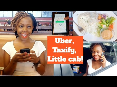 UBER/ TAXIFY/LITTLE CAB/ RIDE REVIEW!