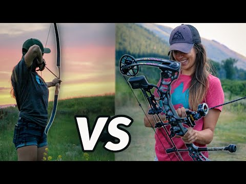 Compound Bow Vs Traditional Bow! Which Is Better For YOU?