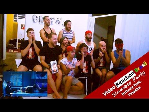 Video Reaction (Brasil) - Slumber Party Britney Spears feat. Tinashe