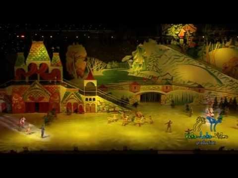 Новогоднее ледовое шоу в Олимпийском.