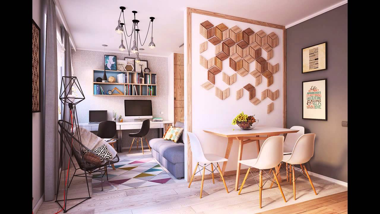 4 small beautiful apartments under 50 square meters youtube - Four small apartments undersquare meters ...