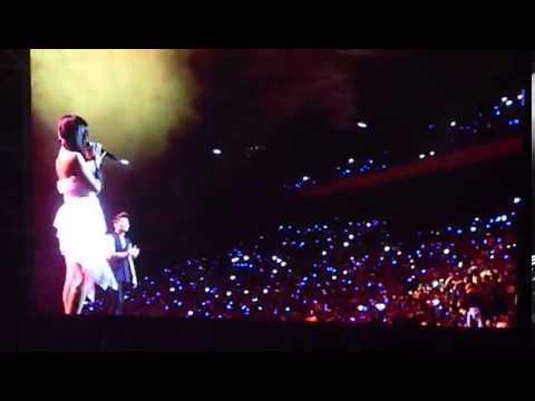 Sistar Hyorin feat Eru - Kemesraan Ini at Mubank Jakarta