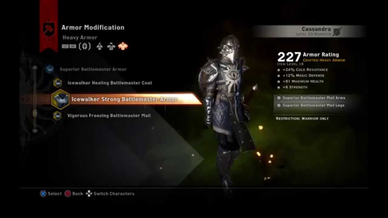 Dragon Age Inquisition Endgame Heavy Armors Youtube For a full list of light armors, see light armor (inquisition). dragon age inquisition endgame heavy armors