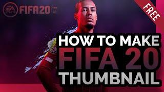 Fifa 20 Thumbnail Design!