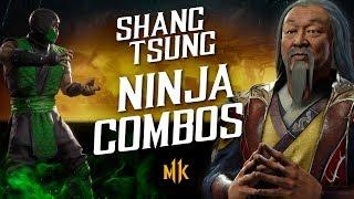 Shang Tsung Ninja Combo Guide – Mortal Kombat 11