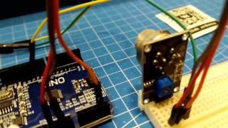 Урок 3 Подключаем датчик газа\дыма MQ-2 схема+код