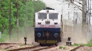 180 KM/HR TRIAL RUNS : Talgo Train surpassed Gatimaan Express Speed on IR's Fastest Rail Sector..!! thumbnail