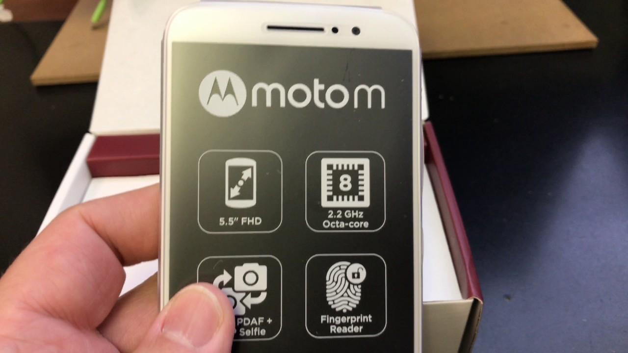 MOTOROLA MOTO M XT1663 DUAL SIM Unboxing Video – in Stock at  www welectronics com