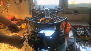 Что можно сделать из стиральной машины автомат. Ветряк или гончарный круг? Эксперименты.