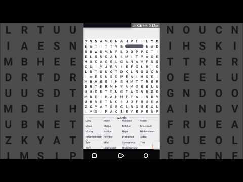 Scrabble Word Finder By Hkouch | Android Video Gameplay‬