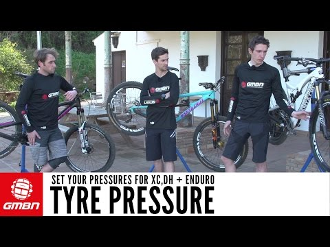 Tyre Pressure For Mountain Biking - How To Set Your Pressures For Enduro, DH + XC