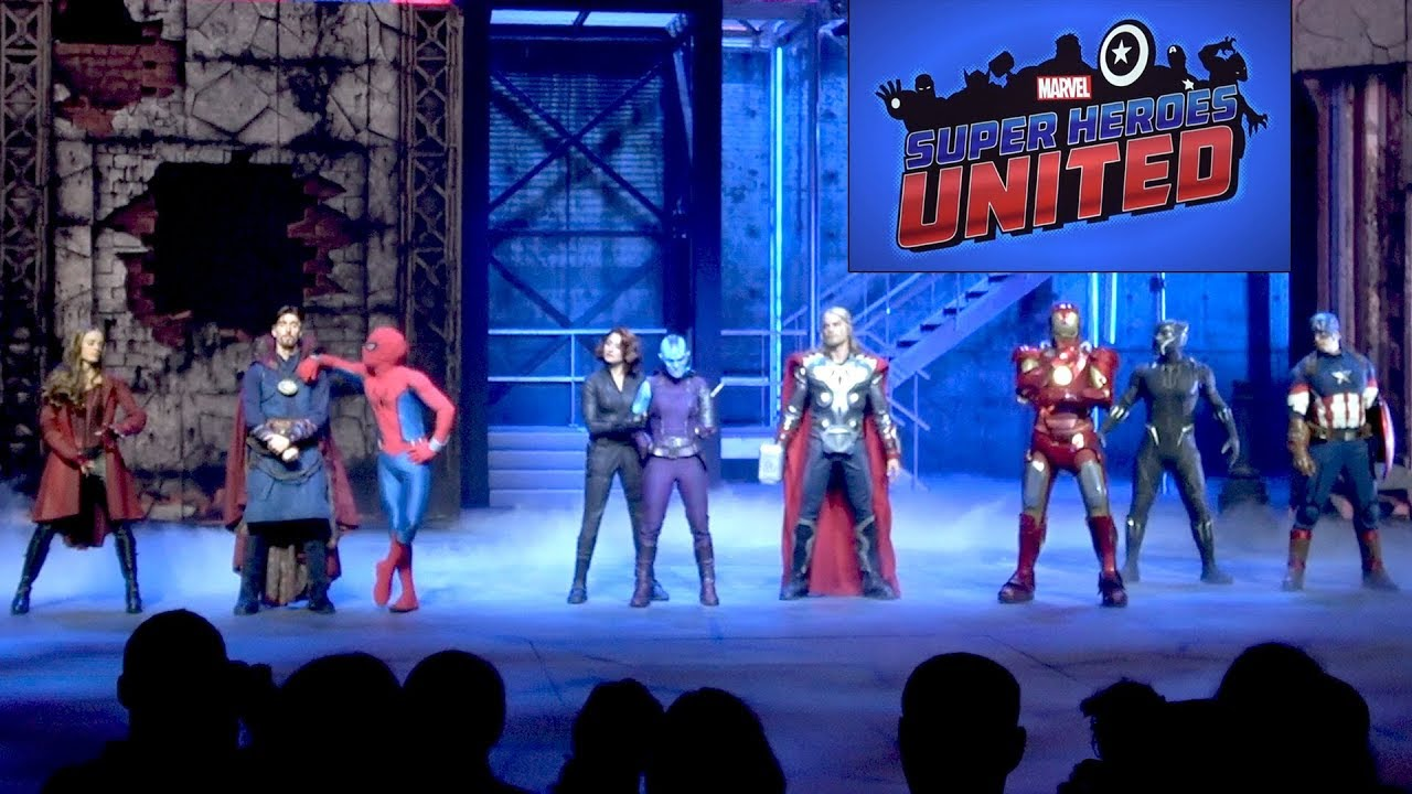 Marvel Super Heroes 60 Superhéroes: Marvel Super Heroes United Full Show With ALL Effects At