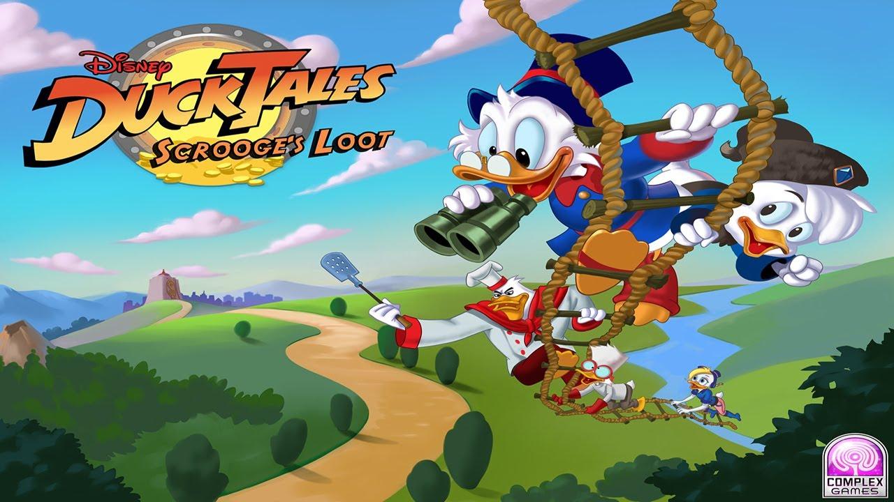 W Ducktales DuckTales: Scro...