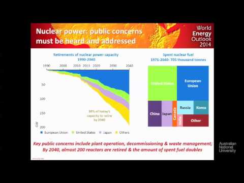 Ian Cronshaw of the International Energy Agency at the 2014 ANU Energy Update