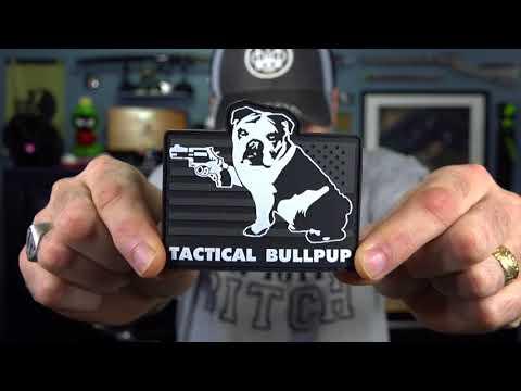 Tactical Bullpup Patch and a Jealous Cat!