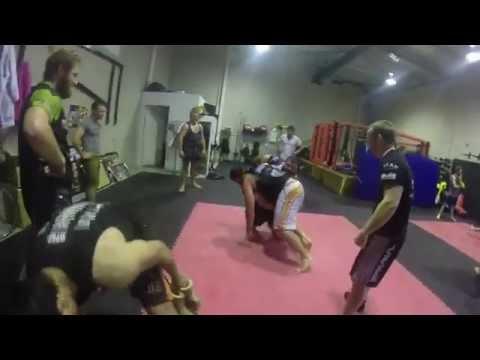 Whitsunday Rugby MMA training