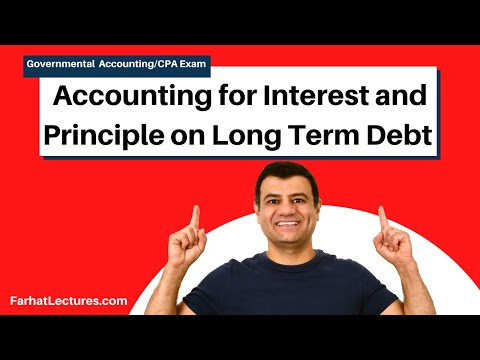 Accounting for Interest and Principle on Long Term Debt | CPA exam FAR