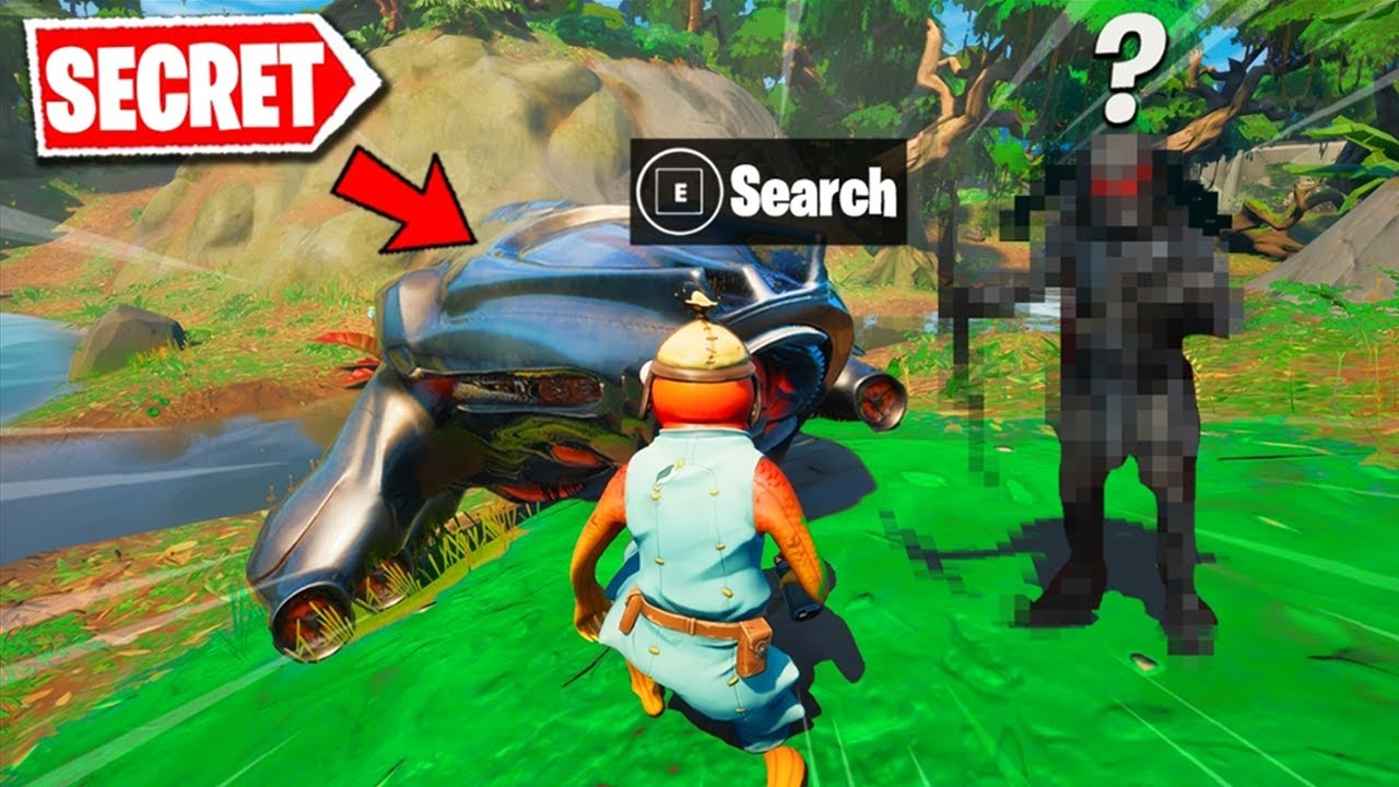 I Tried to find PREDATOR BOSS in Fortnite (secret) - download from YouTube for free