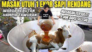 Download lagu MASAK SPESIAL RAMADHAN BUAT WARGA BALI. SATU EKOR SAPI DIRENDANG UTUH!