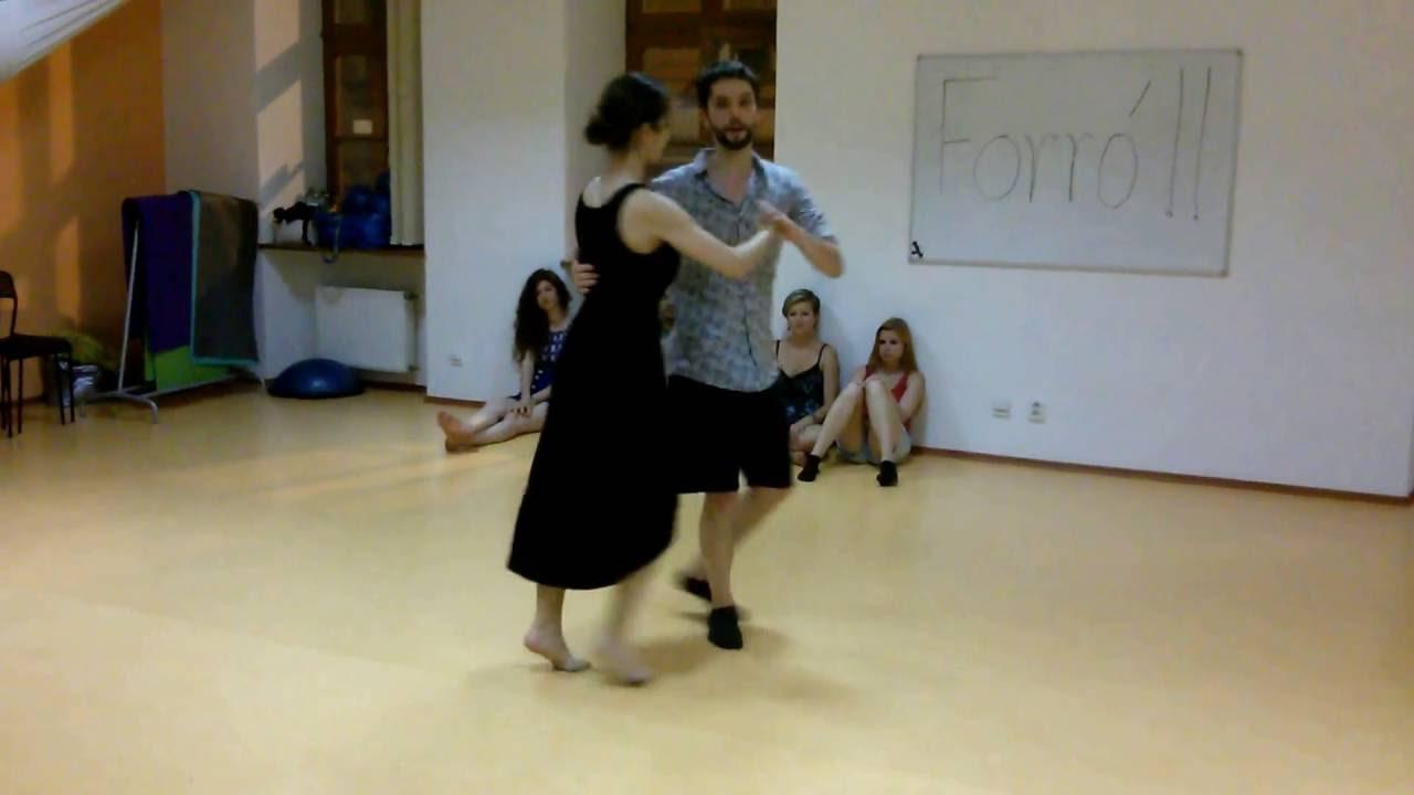 Forro Dance Brazil lesson for intermediate - Martina Pridal & Martina  Kockova