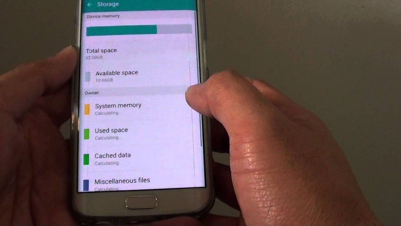 Samsung Galaxy S6 Edge: How To Clear Cached Data Of All Apps