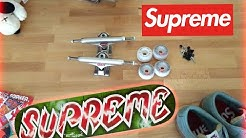Full Supreme skateboard setup