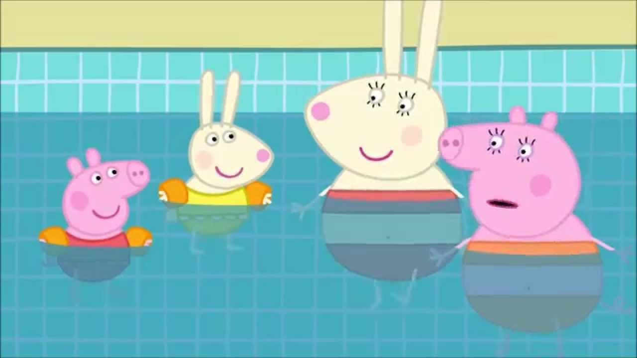 Ytp Peppa Goes Swimming Youtube