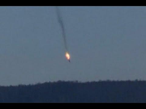 Fuerza Aérea Turca Derriba Jet De Combate Ruso