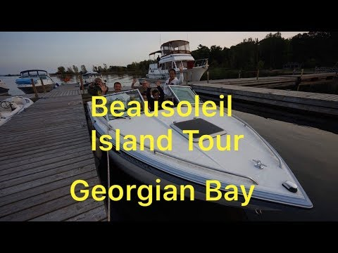 Georgian Bay Island Tour With Glen and Rung