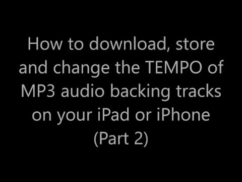 How to change the tempo of music on your iPad or iPhone