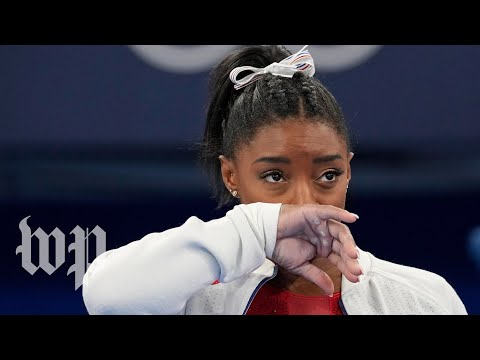 Download What happened to Simone Biles at the Tokyo Olympics women's gymnastics team final