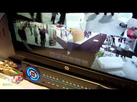 CEDIA 2014: Lilin's NVR Network Video Recorder  Touch Has Drivers for Most Home Automation Companies