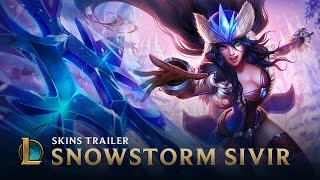 League of Legends - Snowstorm Sivir